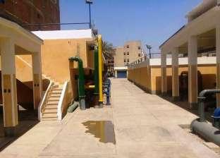 محافظ سوهاج يشكل لجنة لتسلم محطتي تنقية مياه الشرب بمنطقة الجوازات