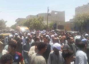 """تشييع جنازة الشهيد """"كريم مصطفى"""" بمسقط رأسه في المنيا"""