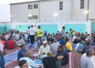 صور| المستشار العمالي في قطر يشارك أبناء الجالية المصرية إفطارا جماعيا