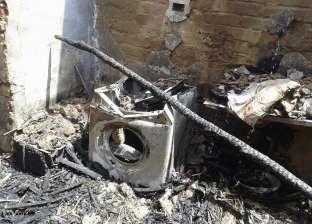 حريق منزل نتيجة ماس كهربائي في الفرافرة