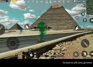 """""""شاهينوفيتش"""" شاب مصري يدمج PUBG مع كورونا: برج إيفل والأهرامات في لعبة واحدة"""