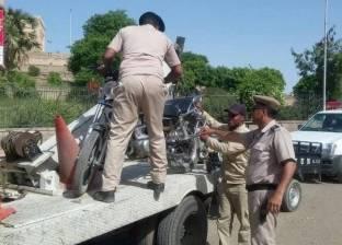مرور سوهاج: ضبط 796 مخالفة سير في حملة على الطرق الصحراوية والزراعية