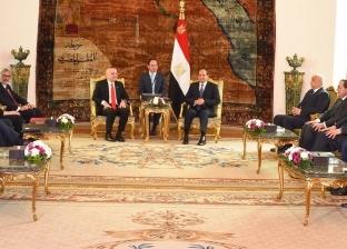 «السيسى»: فرص مثمرة للتعاون مع ألبانيا فى مجالات السياحة والطاقة