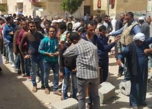 بالصور| إقبال كثيف من أهالي الشيخ زويد على الانتخابات في اليوم الثاني