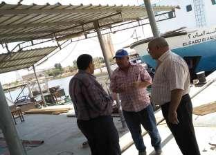 رئيس هيئة السد العالي يتفقد المعدات البحرية العاملة ببحيرة ناصر