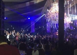 أول صور من حفل زفاف تامر عبد المنعم