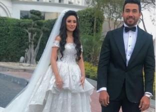بالفيديو| نجوم الفن والكرة في حفل زفاف تريزيجيه
