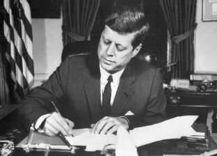 وثائق اغتيال «كيندى»: الرئيس الأمريكى تبادل رسائل مع «عبدالناصر» بشأن فلسطين