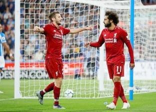 محمد صلاح يقود تشكيل ليفربول المتوقع ضد هيدرسفيلد