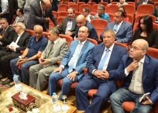 بالصور| طاهر يشهد الاحتفال بالذكرى الثالثة لافتتاح قناة السويس الجديدة