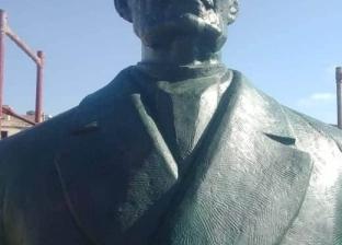 """بعد """"100 عام من العزلة"""".. انتهاء ترميم تمثال سعد زغلول بالإسكندرية"""