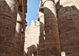 وزارة الآثار تنفي إزالة الأرضية الأثرية لمعبد الكرنك