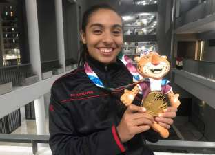 """سلمى أيمن الحاصلة على ذهبية الخماسي الحديث: """"هدفي أولمبياد 2020"""""""