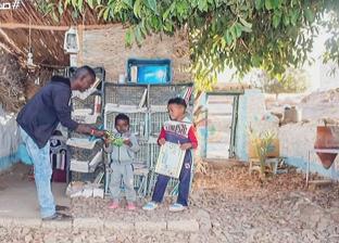صاحب أولمكتبة أطفال بقرية هيسا: كنت محروما من القراءة في طفولتى