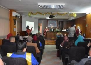 معهد بحوث الهندسة الوراثية بجامعة مدينة السادات ينظم حفل عيد الخريجين
