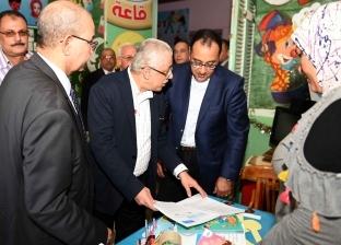 """""""مدبولي"""" و""""شوقي"""" في زيارة تفقدية لمدارس محافظة بورسعيد"""