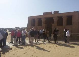 تزامنا مع زيارة ميركل.. وفد ألماني يزور المنطقة الأثرية بتونا الجبل في المنيا