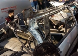 """مصرع 5 وإصابة 3 في حادثتين على طريق """"العلاقي"""" بأسوان"""