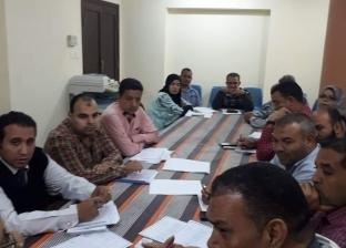 جدول زمني للانتهاء من المشروعات المتعثرة بمركز سمالوط في المنيا