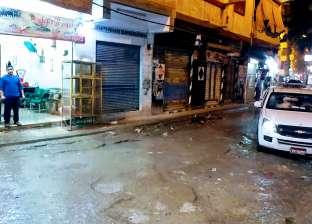 أمطار غزيرة تضرب محافظة دمياط.. واستمرار حركة الملاحة بالميناء