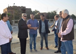 محافظ المنيا يتفقد أعمال تنفيذ مشروع شارع مصر بكورنيش النيل