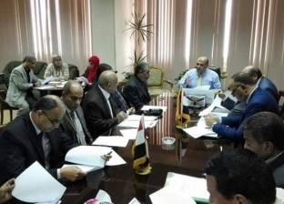 """رئيس مصلحة """"الري"""" يعقد اجتماعا لدراسة طلبات التصالح بمخالفات البناء"""