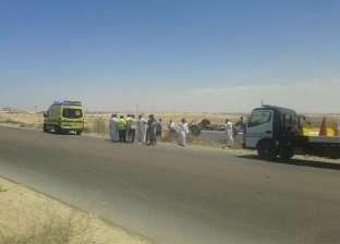 إصابة سائق في تصادم سيارتين بالشرقية