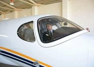 الفريق يونس المصري يتفقد مطار 6 أكتوبر وأكاديمية علوم الطيران