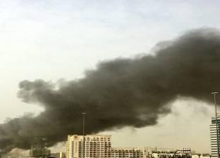 حريق بمحيط ضريح أبو النصر في دمياط دون خسائر بشرية