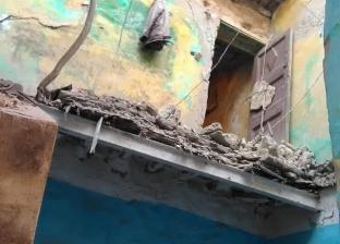 مصرع مسن إثر انهيار عقار غرب الإسكندرية