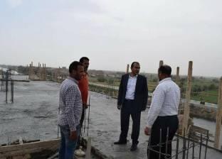 إنشاء 17 عمارة سكنية بطريق المنشأة في مركز أبوقرقاص بالمنيا