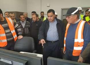 """رئيس السكة الحديد يتفقد مشروعات تطوير على خط """"القاهرة - أسوان"""""""