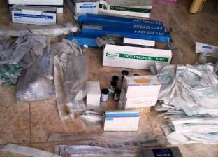 ضبط 1000 سرنجة أنسولين مجهولة المصدر في مخزن أدوية بالشرقية