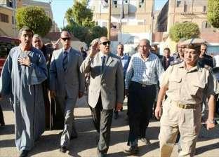 محافظ سوهاج ومدير الأمن يقودان حملة لتجميل مدينة جرجا