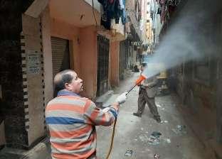 تضامن الإسكندرية تطهر عددا من دور الأيتام وقياس درجة الحرارة