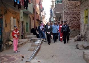 محافظ الأقصر يعلن البدء في توصيل الصرف الصحي بمنطقة قتيبة