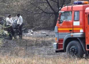 مصرع طيارين إثر تحطم طائرة هندية فور إقلاعها