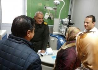 """""""تعليم الإسكندرية"""": توقيع الكشف الطبي على طالبات مدرسة النور للكفيفات"""