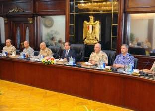 9 نقاط تلخص اجتماع الرئيس بالمجلس الأعلى للقوات المسلحة