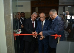 مجدي الغرابلي ومساعد وزير العدل يفتتحان مشروع ميكنة مجمع محاكم مطروح