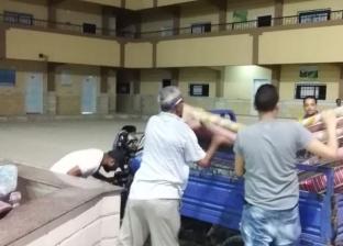 حي الجمرك: توفير إيواء لـ9 أسر إثر انهيار عقارين بجمرك الإسكندرية
