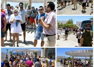 وفد إعلامي إيطالي يتفقد المعالم السياحية في شرم الشيخ