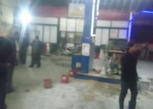إخماد حريق شقة في منطقة قسم الجيزة