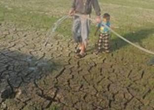 تجمهر العشرات من الأهالي بسبب نقص مياه الري بالفيوم