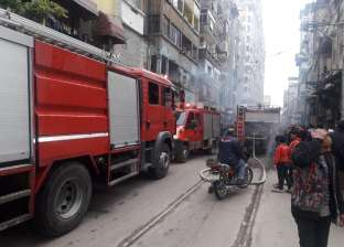 إخماد حريق داخل مخيم مؤقت للصلاة الكنسية في مركز مطاي بالمنيا