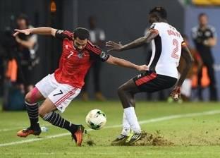 موجز التاسعة| نهاية الشوط الأول من مباراة مصر وأوغندا بتقدم الفراعنة