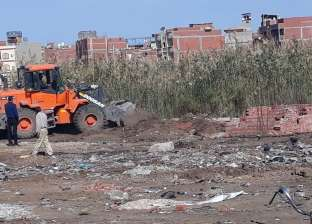 إزالة 42 حالة تعدِ على الأراضي الزراعية في كفر الشيخ