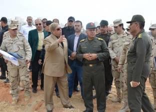 طاهر والوزير يتابعان مشروعات مدينة الإسماعيلية الجديدة