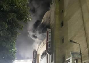 النيابة تعاين مقر حريق سينما ريفولي لتحديد أسبابه وحصر خسائره