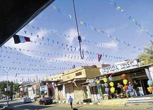 فى سوق الشيخ زويد.. «زينة رمضان» فى مواجهة الإرهاب
